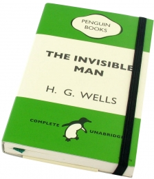 The Invisible Man notebook