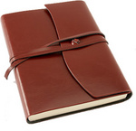 Toscana Red Leather Journal